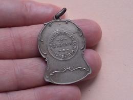 LA ROYALE PELOTE DU SUD 1905 - 1930 Souvenir ( 10,7 Gr. Hanger - Details, Zie Foto ) - Belgium