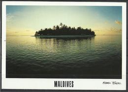 Maldives,Atoll, Photo By Michael Friedel, Unusual Cancellation,1998. - Maldives