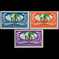 SAMOA 1968 - Scott# 295-7 Human Rights Set Of 3 MNH - Samoa