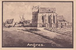 Alte Ansichtskarte Aus Angres -Zerstörungen Im 1. Weltkrieg- - France