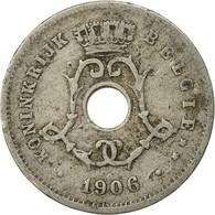 Belgique, 5 Centimes, 1908, TB, Copper-nickel, KM:55 - 1865-1909: Leopold II