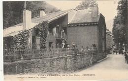 CPA CAUTERETS 65 - Villa Vergès Rue Du Parc Dulan - Cauterets