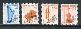 FRANCE- Préoblitéré Y&T N°202 à 205- Neufs Sans Charnière ** - 1989-....