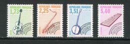 FRANCE- Préoblitéré Y&T N°224 à 227- Neufs Sans Charnière ** - Preobliterati