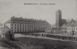 GRAVELINES (59) - La Caserne - Esplanade - Gravelines