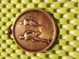 Medaille  / Medal - Veldlopen / Cross-country Running  D.T.O. + 1950 - 1000 M 2 E Pr.  - The Netherlands - Gymnastiek