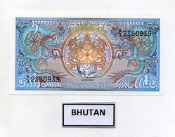 Bhutan - Banconota Da 1  Ngultrum - Nuova -  (FDC8084) - Bhutan