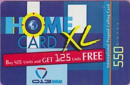 Télécarte Israel °° Home XL - 550 Units - 2007 R   ***   LUXE - Israël