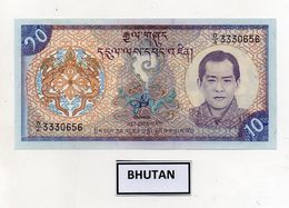 Bhutan - Banconota Da 10 Ngultrum - Nuova -  (FDC8086) - Bhutan