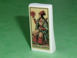 Fèves / Autres / Divers / Jeux : Carte , Tarot , Reine De Deniers  T108 - Sorpresine