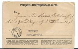 EL071 / ELSASS -  Feldpost 1876-71 Preuss .Palais Nancy 6.9.70 - Allemagne