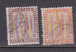ACR0204 SAINT-MARIN Yv N°32/33 - Saint-Marin