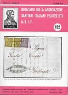NOTIZIARIO A.S.I.F. DI STORIA POSTALE # 152 - OTTOBRE 1976 - Italiane (dal 1941)