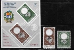 Venezuela 1962 WHO Drive To Eradicate Malaria Mint Hinged - Venezuela