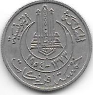 *tunisia 5 Frances 1954  Km 277 Xf - Tunisie