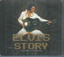 2 CD  ELVIS PRESLEY - ELVIS STORY - 56  TITRES + Bonus Vidéo ( Avec LIVRET ) - Music & Instruments