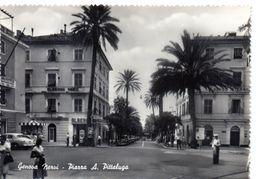 GENOVA NERVI - PIAZZA A. PITTALUGA - NON VIAGGIATA - Genova (Genua)