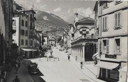 SION / SITTEN → La Rue Du Grand Pont Mit Oldtimer VS-5080 Anno 1953 - VS Wallis
