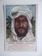 5 CHROMOS A.E.F. AFRIQUE EQUATORIALE FRANCAISE Série E Complète N° 1 à 5 SAVORGNAN De BAZZA Dr JAMOT Maladie Sommeil Etc - Otros