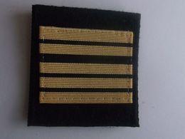 Grade Velcro  De Poitrine Grade Capitaine De Vaisseau Marine Nationale - Uniforms