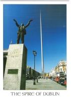 THE SPIRE OF DUBLIN, DUBLIN, IRELAND. USED POSTCARD Ke6 - Dublin