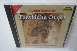 """CD """"Günther Brausinger"""" Festliche Orgel, Feierliche Klänge Für Festliche Stunden - Klassik"""