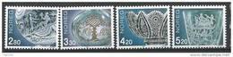 Norvège 1992 N°1058/1061 Neufs** Journée Du Timbre La Verrerie - Neufs