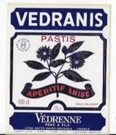 Pastis VEDRANIS - Alcohols