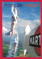 CPM Aviation - Patrouille Martini - Basée à Is Sur Tille - En évolution - Meetings