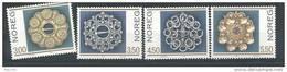 Norvège 1994 N°1122/1125 Neufs** Bijoux En Argent - Neufs