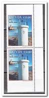 Letland 2017, Postfris MNH, Lighthouses From Booklet - Letland