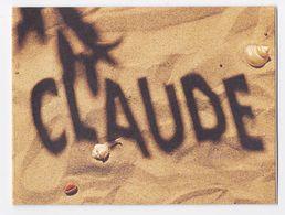 Carte Postale PRENOM CLAUDE - Prénoms