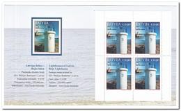 Letland 2017, Postfris MNH, Lighthouses, Booklet - Letland