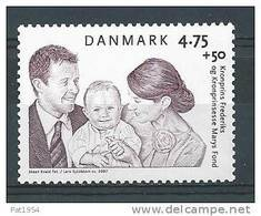 Danemark 2007 N° 1461  Neuf **  Surtaxe Pour Fondation Prince Frederik - Neufs