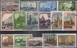 Russia 1947, Michel Nr 1137-51, Used - Used Stamps