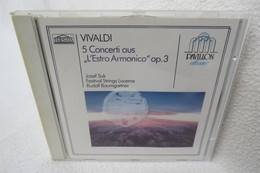 """CD """"Vivaldi"""" 5 Concerti Aus L'Estro Armonico"""" Op. 3, Josef Suk - Klassik"""