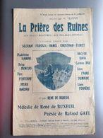 Partition Musicale La Priere Des Ruines - Noten & Partituren