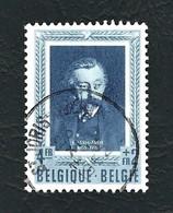 BELGIO 1952 - Scrittori Belgi / Emile Verhaeren. - 4+2 F. - Yt:BE 896 - Usati