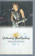 """K7 VIDEO  -  JOHNNY HALLYDAY   """" PARC DES PRINCES 1993 """" - - Concert Et Musique"""
