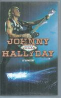 "K7 VIDEO  -  JOHNNY HALLYDAY   "" DESTINATION VEGAS - LE CONCERT "" - - Concert & Music"
