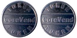 00156 GETTONE JETON TOKEN IRELAND VENDING CIGARETTES MACHINE TOKEN COREVEND - Tokens & Medals