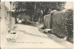 LA VALENTINE...MARSEILLE....Route De La Salette Par Le Village - Les Caillols, La Valentine