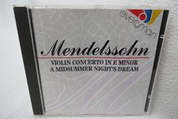 "CD ""Mendelssohn"" Violin Concerto In E Minor - Classical"