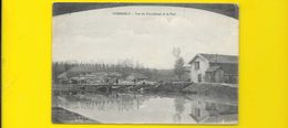 COMMERCY Rare Vue Du Pont Canal Et Le Port (Magnac) Meuse (55) - Commercy