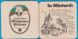 Berg-Brauerei Mann Mülheim An Der Ruhr ( Bd 550 ) - Bierviltjes