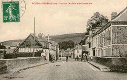 (56) CPA Pont Saint Pierre  Pont Sur Andelle Grande Rue  (bon Etat) - France