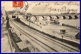 DEUX C.P SEVRES Ecole Normale. Pont De Sèvres Saint Cloud Mont Valérien (rectos Versos) - Sevres