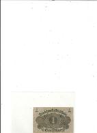 DARLEHENSKASSENSCHEIN ( Billet De Pret D'etat 1914-1922 ). 1 EIN MARK .  1-3-1920 . N° 165-413378 . 2 SCANES - 1918-1933: Weimarer Republik