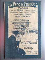 Partition Musicale Le Pere La France Dona - Noten & Partituren