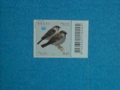OISEAUX - Timbre Neuf Xx ESTONIE 2002 - Sparrows